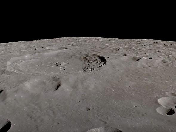 Video: Orbit around the moon for 4 hours in this real-time video: Digital Photography Review