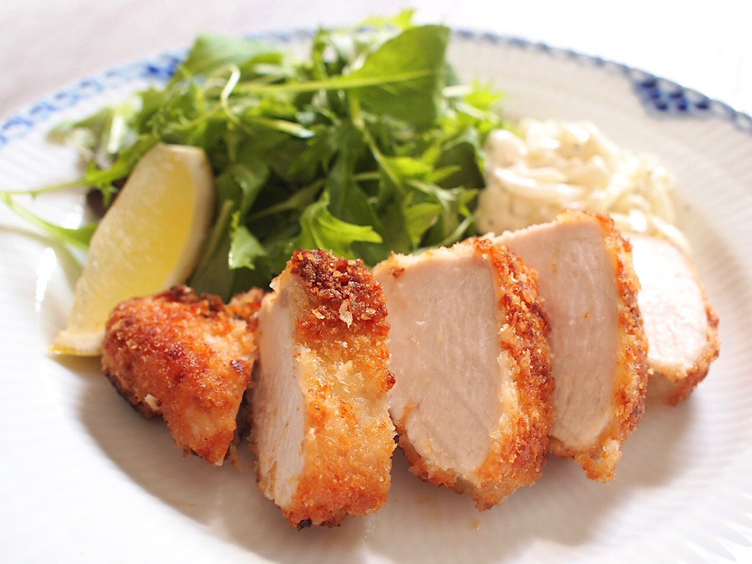 """recipe Make with a plastic bag. Non-fried """"chicken cutlet style"""" recipe[Zubora housewife's simple rice # 2]"""
