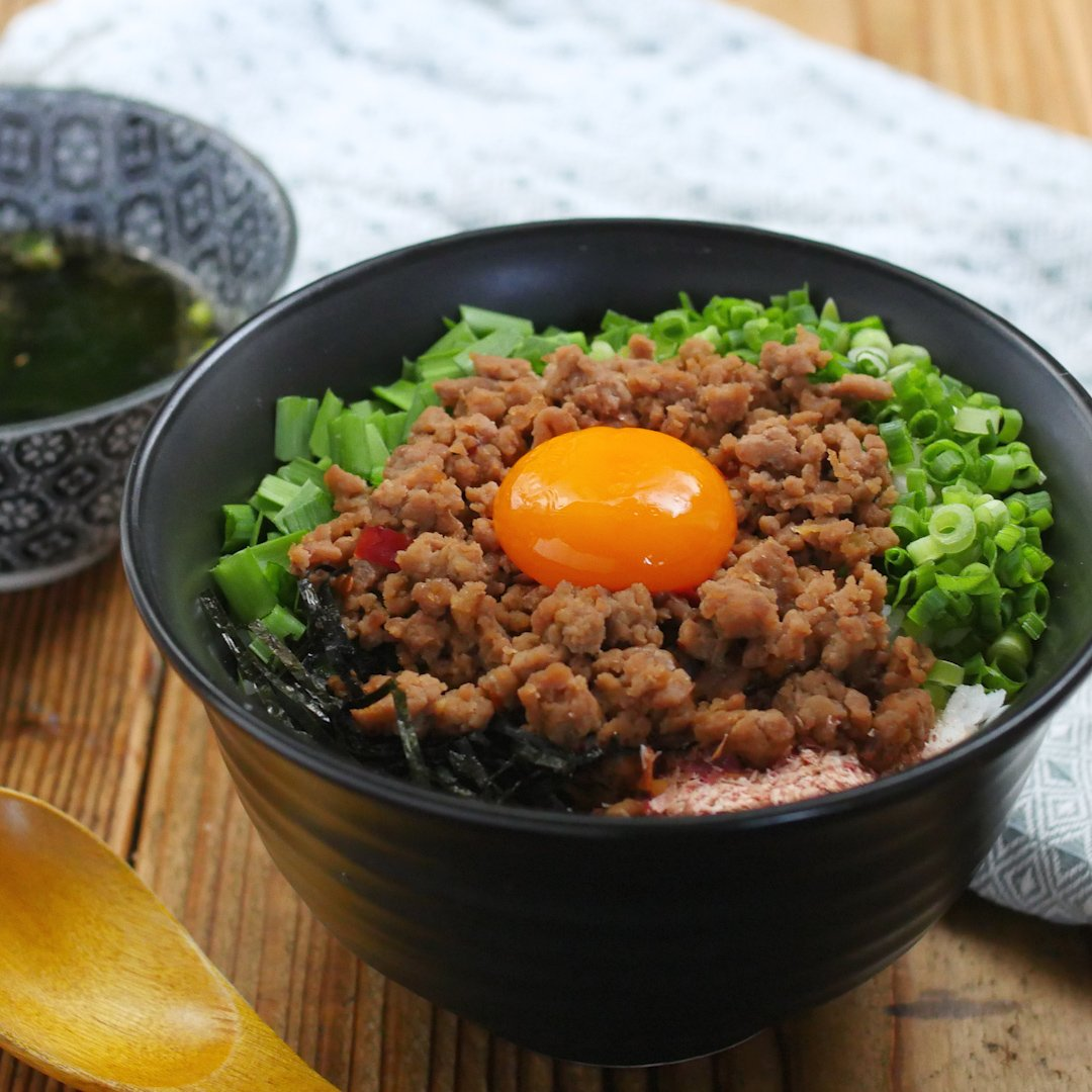 recipe Noodles in a bowl.Taiwan mixed soba style bowl