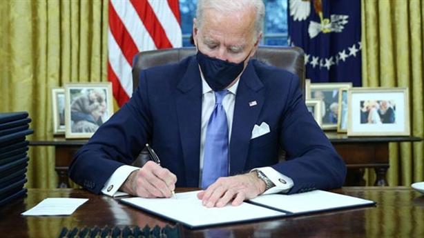 Mr. Biden brings to the table the Trump opposition policy series