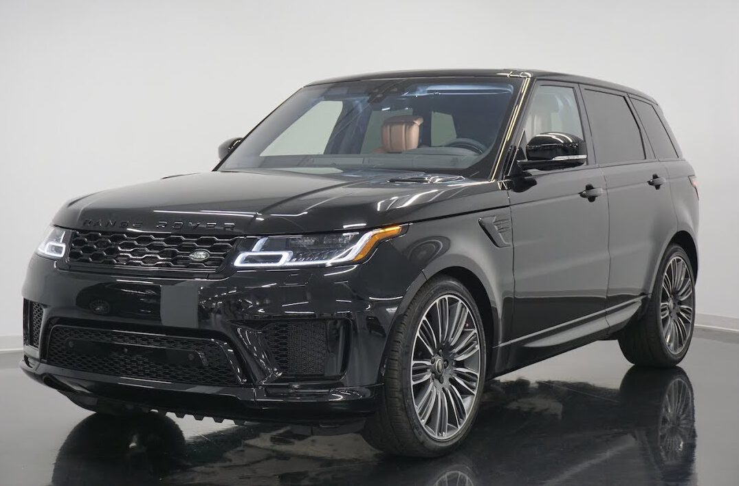 Range Rover Sport: Powerful, athletic, and packed with technology