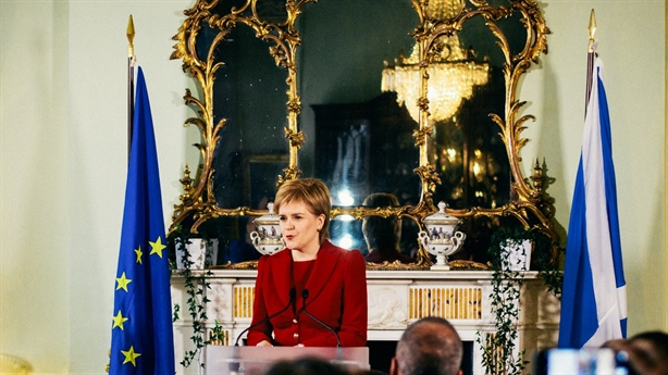 Scotland wants a referendum to leave England