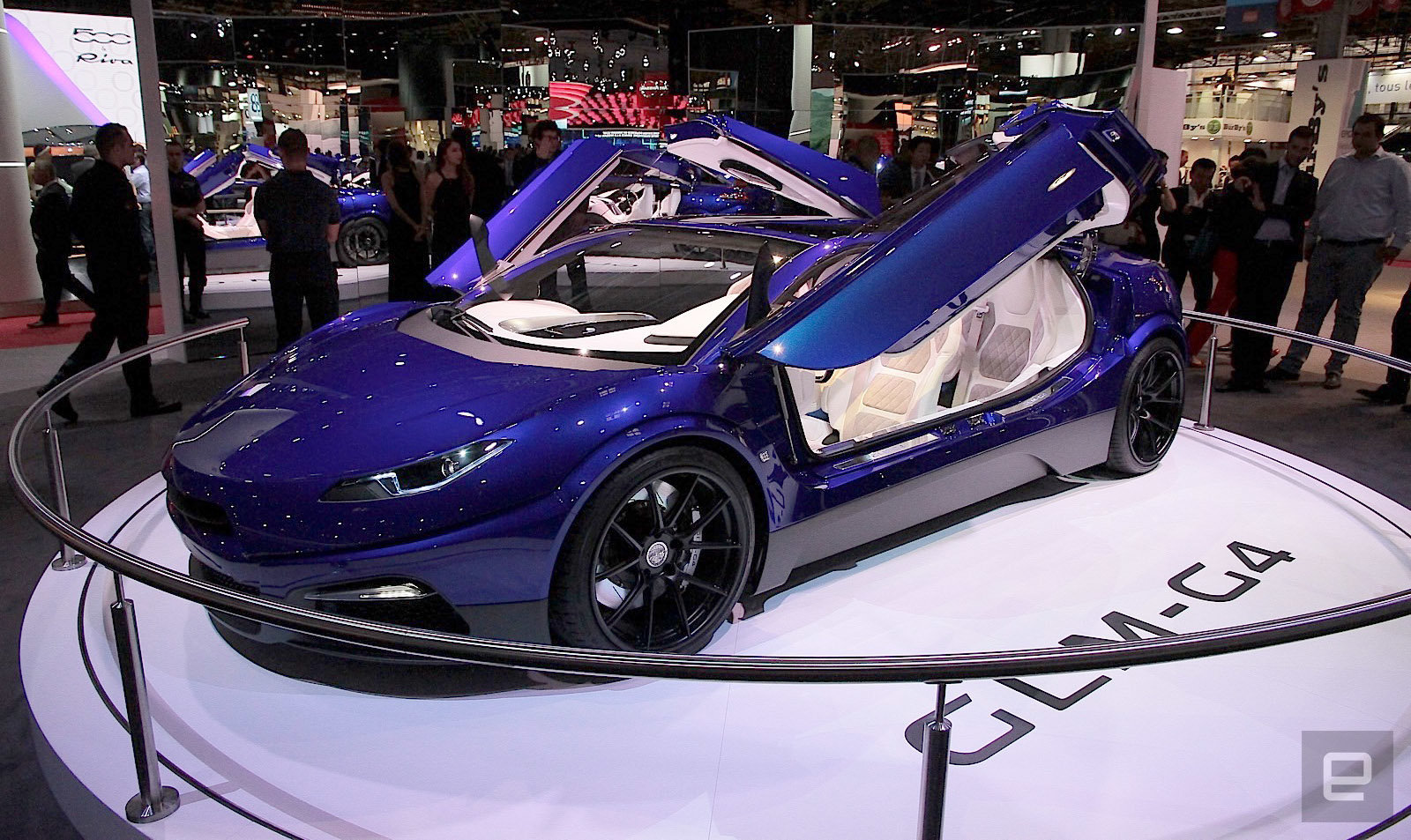 GLM G4: Japanese electric supercar is ambitious to compete with Tesla