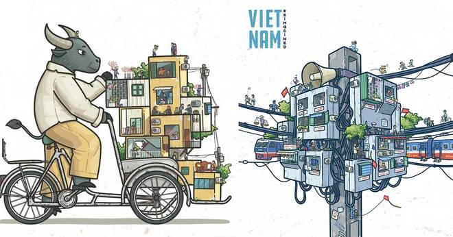 The daily life of the Vietnamese people is reduced to a 'Collective Station' by Dang Tuan 7 minutes to read