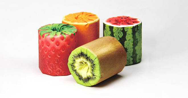 Toilet paper in the shape of juicy fruits?  Why not?  3 minutes to read