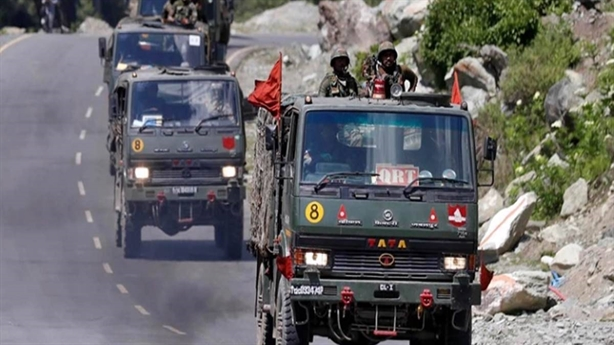 India is vigilant, increasing troops to the Chinese border