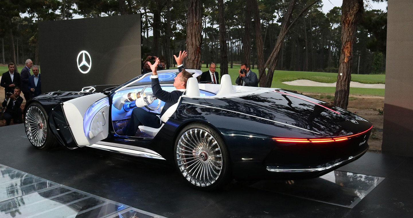 """Mercedes Maybach 6 Cabriolet: """"Super yacht"""" with admirable ground"""