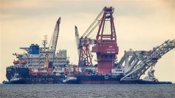 A Russian American ship also ... punished for Nord Stream 2
