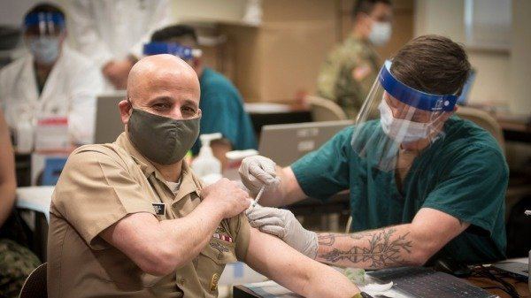 Large numbers of US servicemen do not accept the COVID-19 vaccine