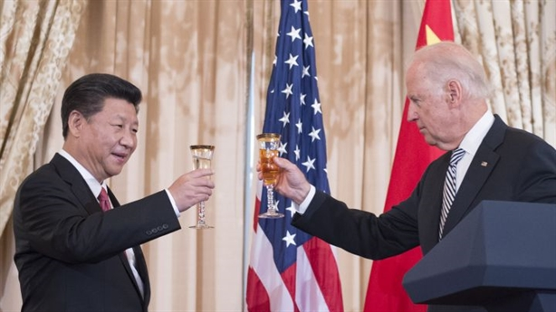 Mr. Biden relaxed with China
