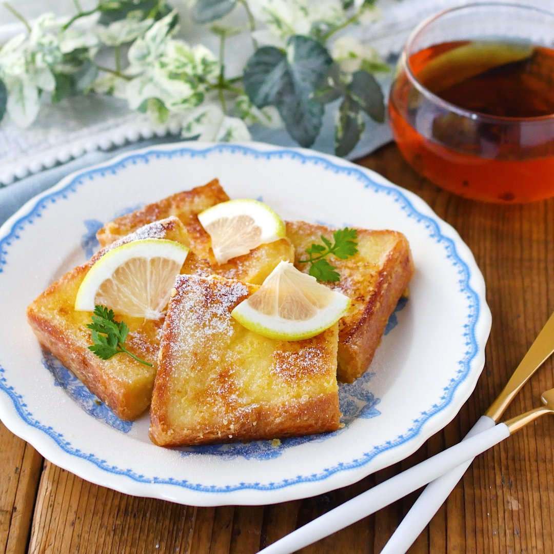 recipe without milk.Cheesecake style french toast