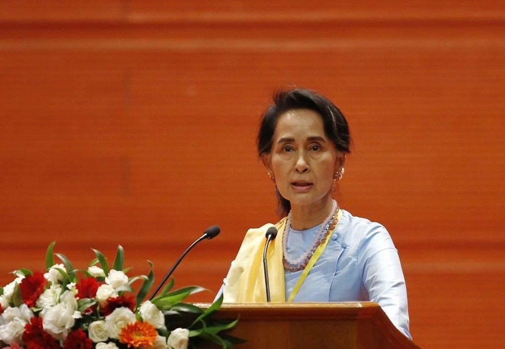 A series of Myanmar leaders were arrested by the military on suspicions of election fraud
