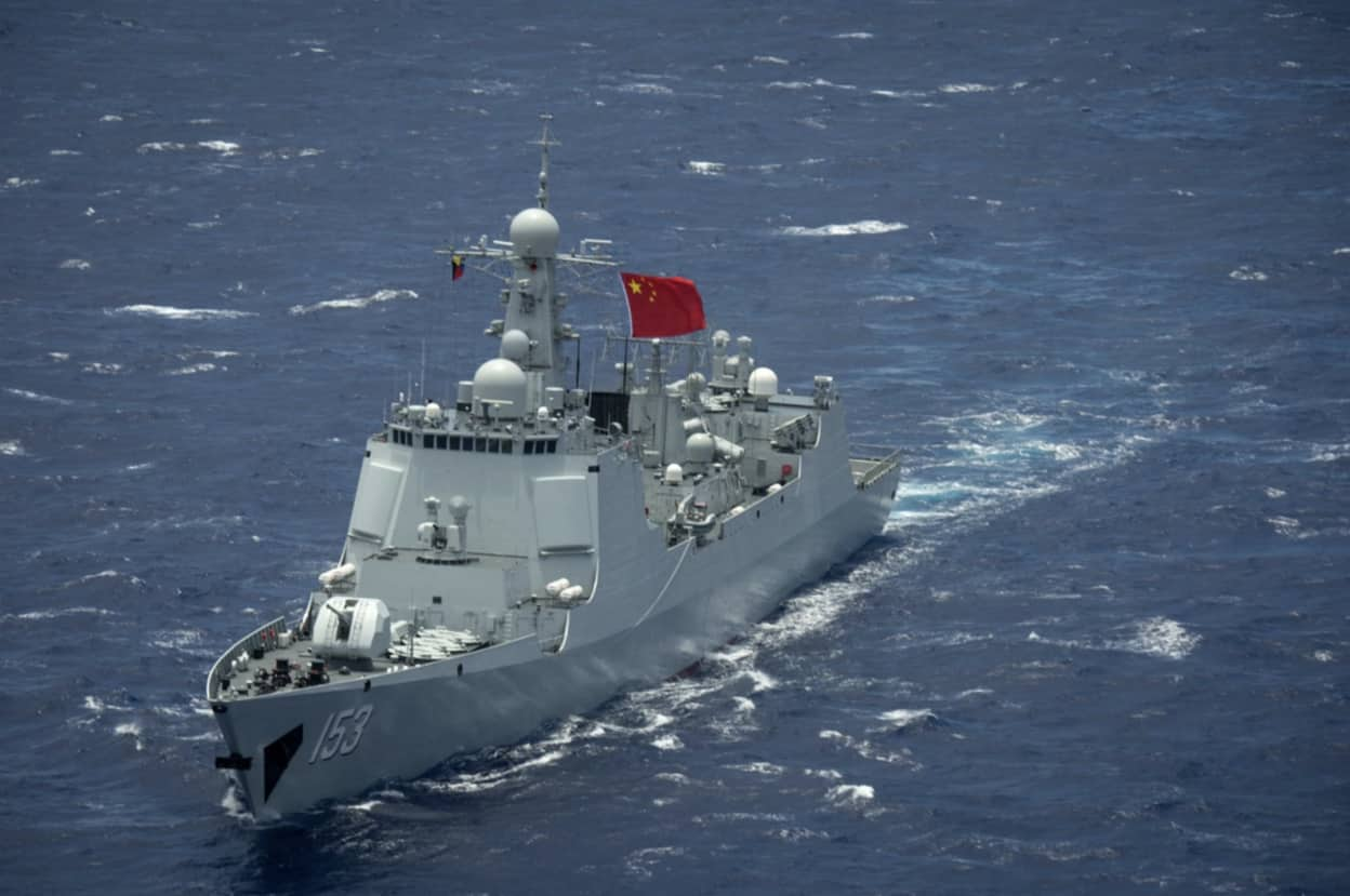 Britain and Japan expressed concern over Beijing's aggression in the seas