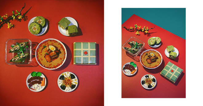 """Enjoy your eyes with the unique """"Tet"""" set from artist KhangLEGO 3 minutes to read"""