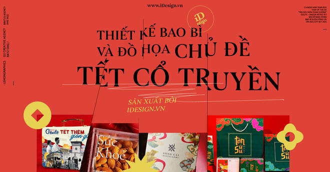 Collection of impressive packaging designs and graphics for the traditional New Year theme 10 minutes to read