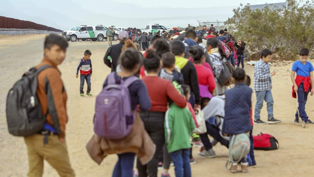 Border officials temporarily release people who illegally cross the border into the United States
