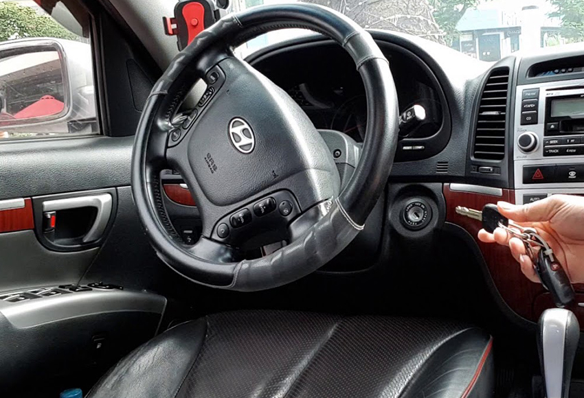 Why the car is off-wheel?  Steering wheel adjustment is deviated