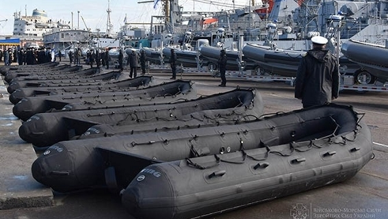 Ukraine: From Soviet aircraft carriers to ... American inflatable mattresses