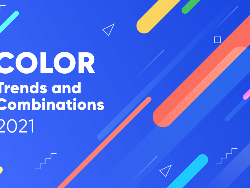 Top trends and color combinations to try in 2021