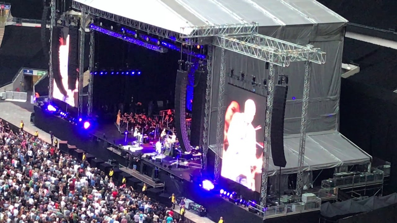 The Who - Moving On! Tour live at Wembley Stadium, London, England, July 6, 2019