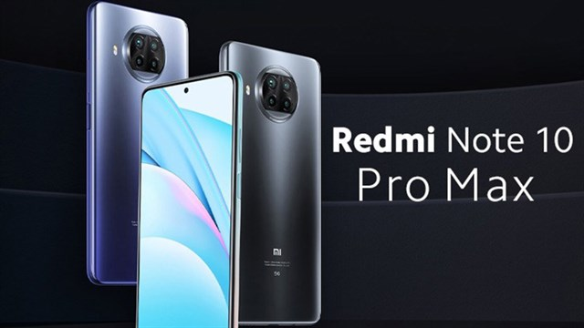 Xiaomi Redmi Note 10 Pro Max uses Snapdragon 768G chip, 108MP camera and 5,050mAh battery (Updating)
