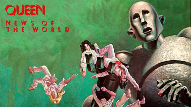 Story behind the most impressive 70s album cover: Queen's News Of The World 4 minutes to read