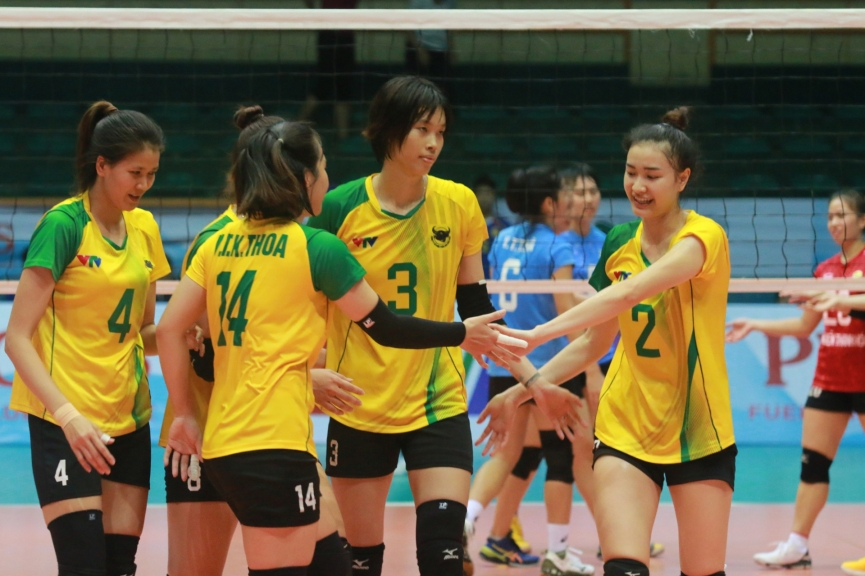 Live Volleyball Hoa Lu Cup