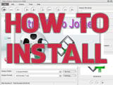 Install Ultra Video Joiner software, join video