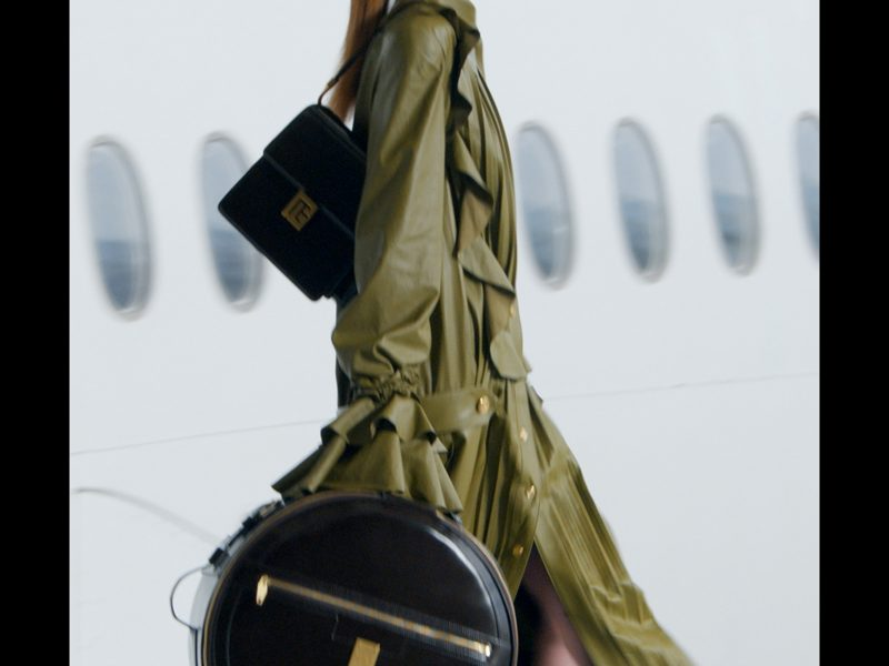 Flight BAL 021 Takeoff from Charles de Gaulle / Balmain Fall / Winter 2021 Collection