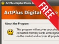 (Giveaway) Register ArtPlus Digital Photo Recovery copyright, recover deleted photos, videos, audio from July 14 - July 16