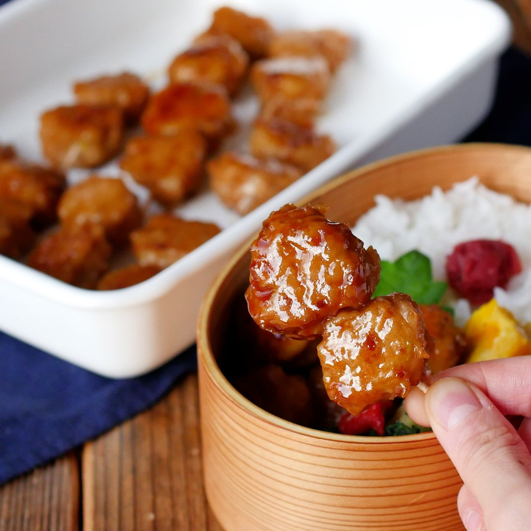 recipe[Make-up]Bite chicken meatball