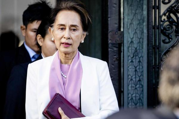 Aung San Suu Kyi is still in 'good health' when she appears in court