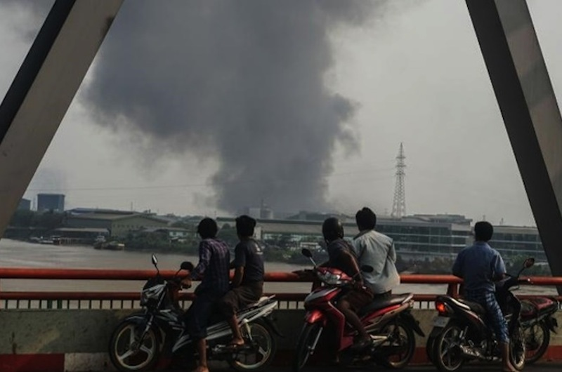 China requires state-owned companies to evacuate staff from Myanmar