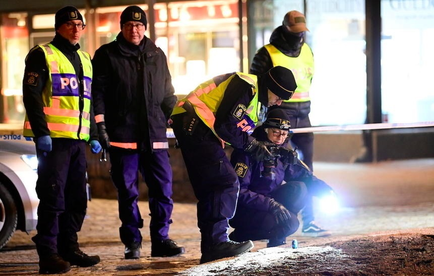 Crazy stabbing in Sweden can be terrorism