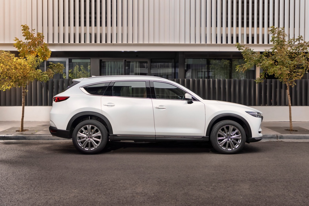 Mazda CX-8 2021 launches competitively Hyundai SantaFe, Toyota Fortuner