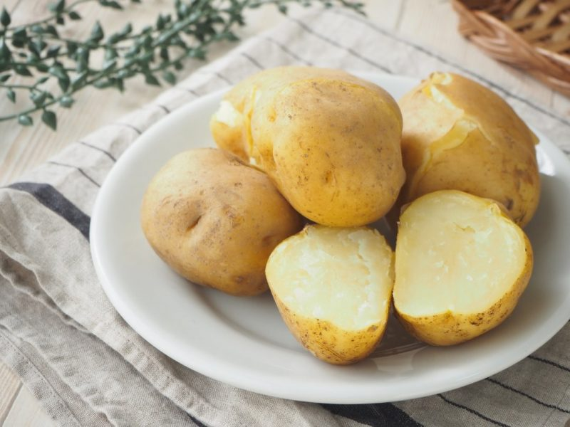 recipe Easy with a rice cooker!How to make steamed potatoes & exquisite arrangements