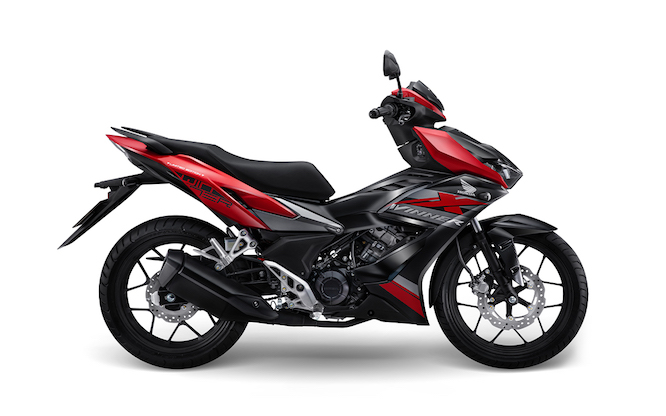 Honda launched Winner X sports limited edition, priced at 46 million VND