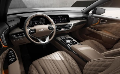 2021.03.04.  58,279 read Kia K8 interior design unveiled, 3 first applied functions CARLAB 166
