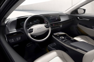 2021.03.15.  32,351 read'This will change' What is the key to changing Kia's interior design with the K8 and EV6?  Auto Buff 62