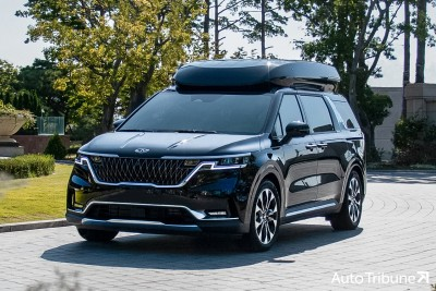 """2021.03.03.  49,651 read Carnival High Loop launch, priced at 4,875-4,995 million won...""""Equipped with both cost performance and practicality""""       Auto Tribune 73"""