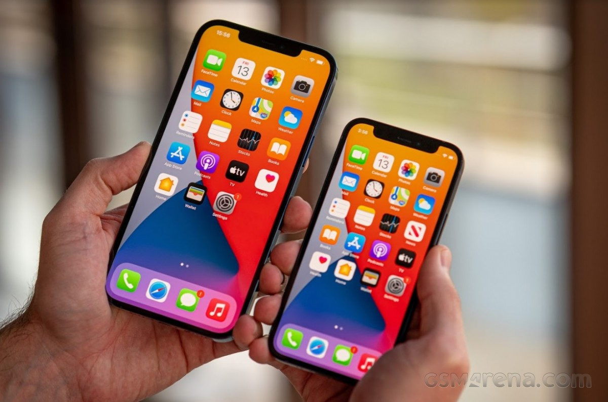 Apple iPhone 12 Pro Max and iPhone 12 Pro