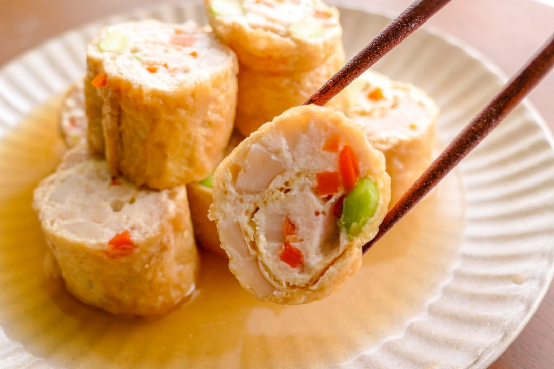 "recipe The crispy texture is fun!""Shinoda-boiled"" recipe of minced chicken and colorful vegetables"