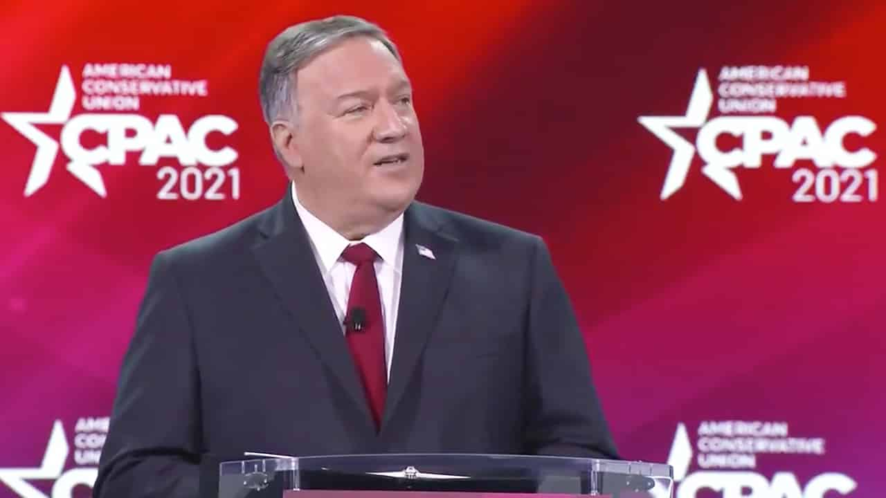 Pompeo: The US is back at the Paris Climate Agreement, Xi Jinping laughs all the time