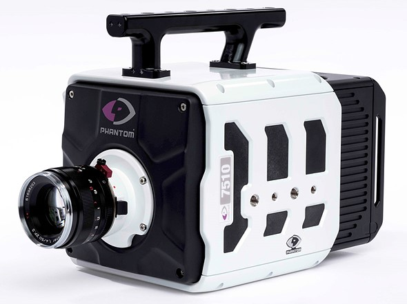 New Phantom TMX high-speed cameras can record at up to 1.75M fps: Digital Photography Review