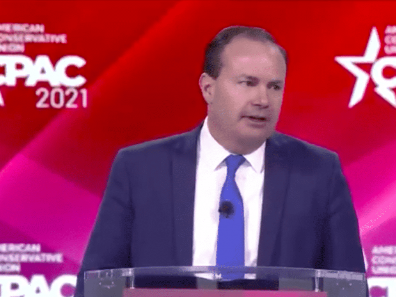 """TNS Mike Lee at CPAC: """"The country's freedoms are under attack"""""""