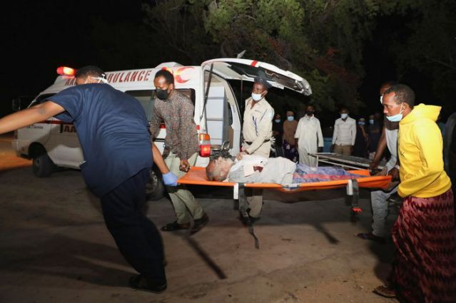 Somalia: suicide bombing outside the restaurant, 50 casualties - photo 1