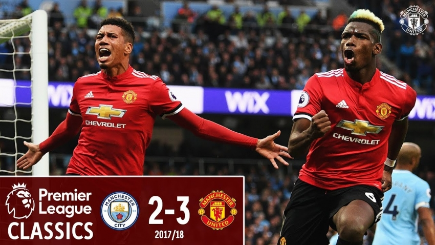 Man City can not forget the memory of being swept up by the neighbor in the 2017/18 season