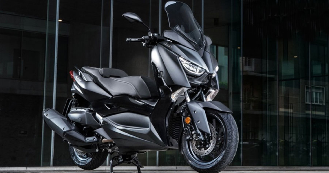 The new Yamaha scooter 'god of wind' reveals new information, capable of usurping the throne of Honda SH photo 1