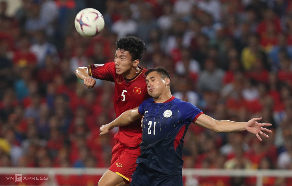 Dinh Trong has starred in all competitions of Vietnamese teams since Coach Park Hang-seo was coach.  Photo: Lam Thoa