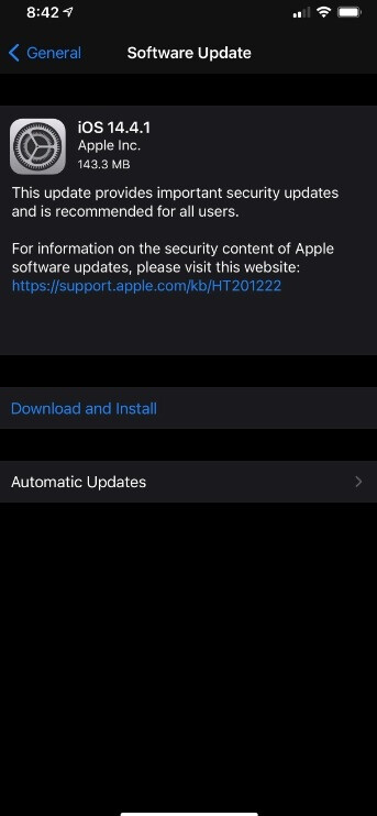 Apple releases iOS 14.41 to patch security issues with the iPhone browser - You'll feel more secure about the Safari browser if you install today's iPhone and iPad updates